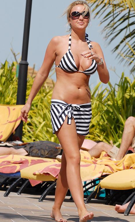 Consider, that Colleen mcloughlin blue bikini suggest you